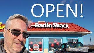 A rare OPEN Radio Shack - KEN HERON