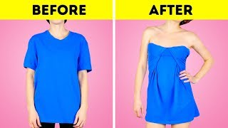 18 NEW HACKS FOR YOUR OLD T-SHIRT