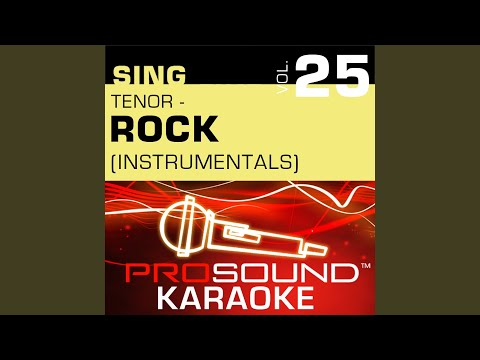 Mad World (Karaoke Instrumental Track) (In the Style of Tears For Fears)