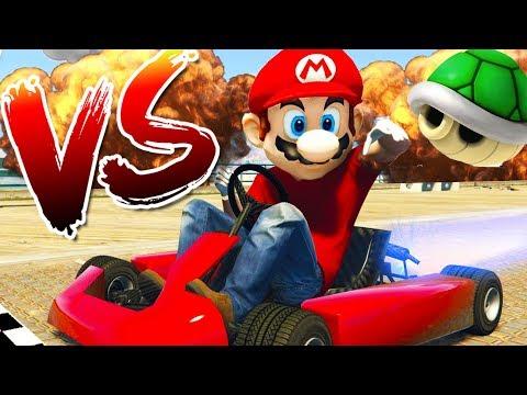 MARIO VS RPG! - GTA 5 ONLINE FUNNY MOMENTS
