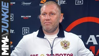 Bellator 225: Sergei Kharitonov full pre-fight interview