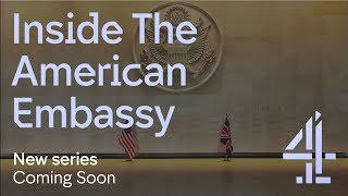 Channel 4: Inside the American Embassy 360° trailer