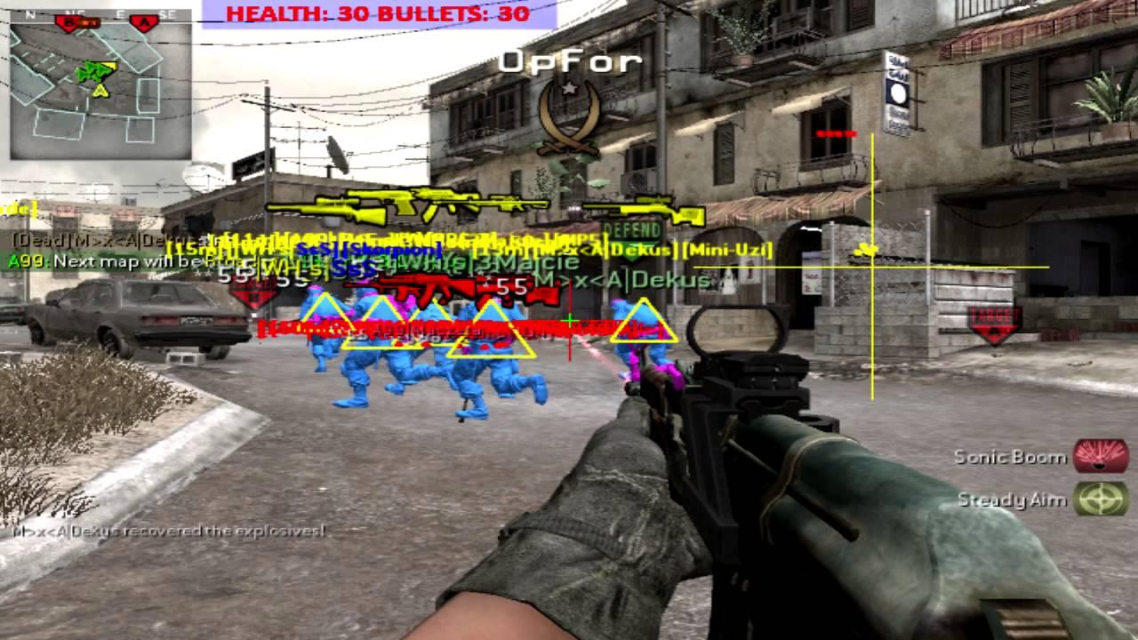 Секрет читы и коды call of duty 4 modern warfare игры