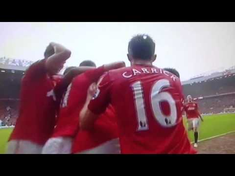 MUST SEE! In HD! Rio Ferdinand's Goal vs Swansea City!