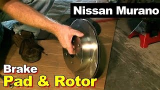 2006 Nissan Murano Rear Disc Brake Pad Replacement