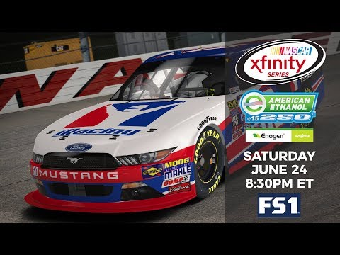Ty Majeski makes his debut in the NASCAR Xfinity Series: June 24th at 8:30PM ET