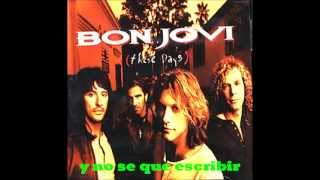 Watch Bon Jovi My Guitar Lies Bleeding In My Arms video