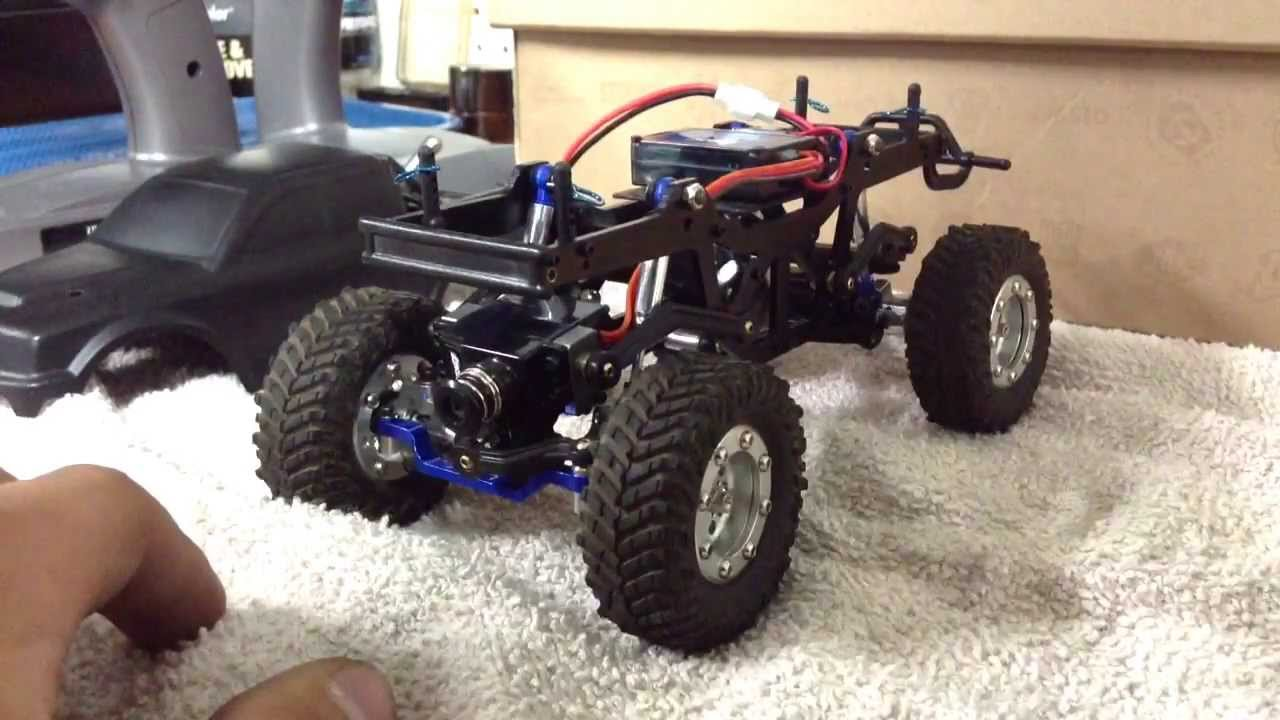 Honda Four Wheelers For Sale >> Week 3 : Losi micro 4x4 trail trekker with all aluminum ...