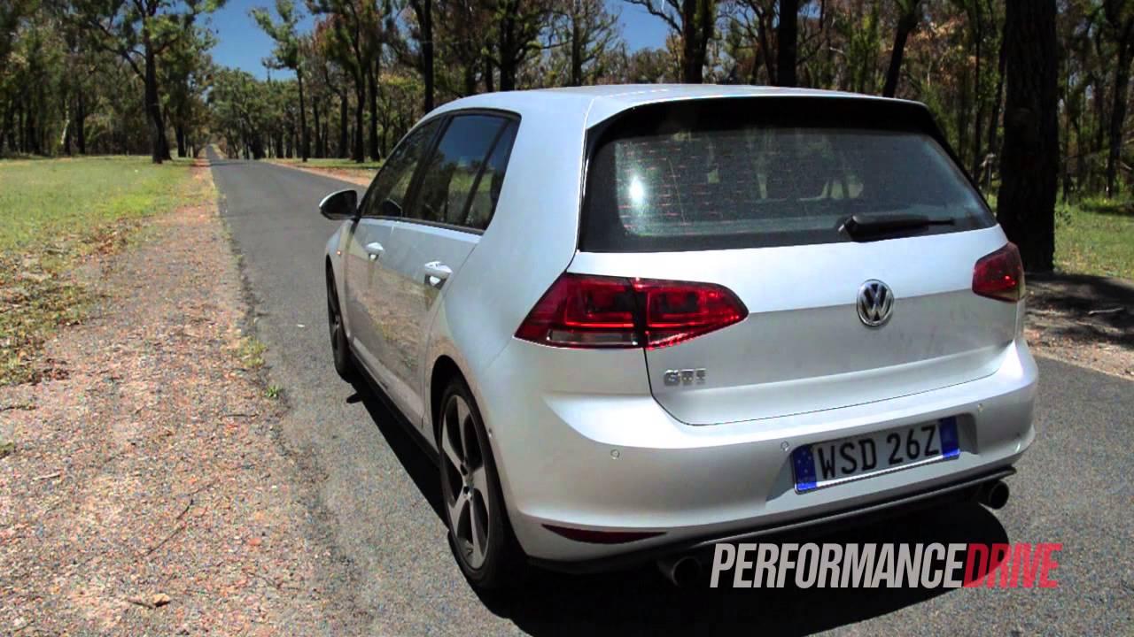 2014 Volkswagen Golf GTI Mk7 engine sound and 0-100km/h