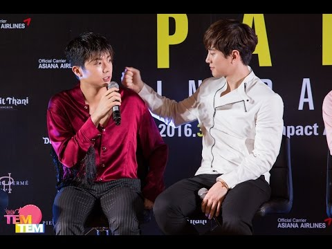 160319 2PM Concert HOUSE PARTY in Bangkok Press Conference