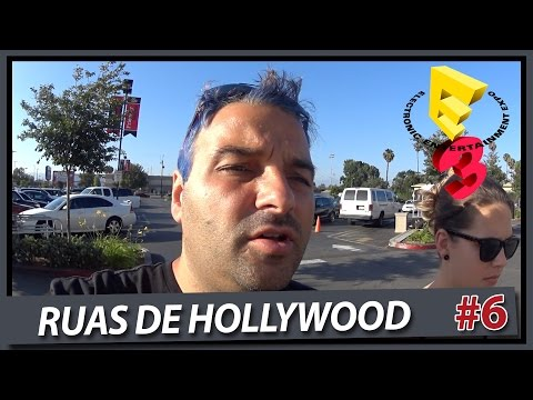 In-N-Out Burger + Ruas de Hollywood - RA NA E3 2015 (LOS ANGELES) - Parte 6