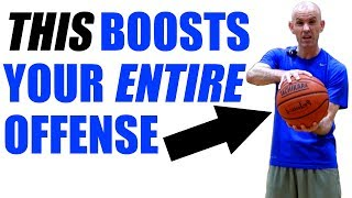 How To PALM A Basketball! 1 Thing That BOOSTS Your ENTIRE Offense!