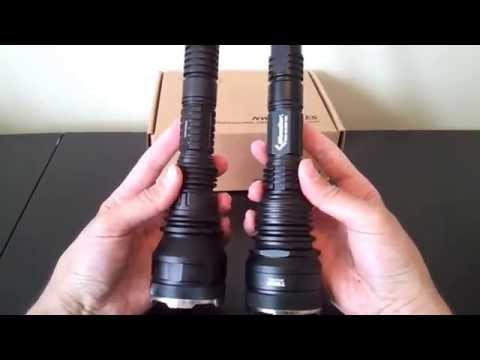 Niwalker 750N1 (2x18650 or 1x18650/2xCR123A/RCR. XM-L U2) review. by selfbuilt