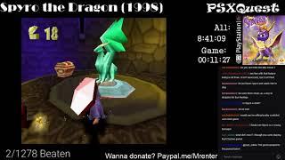 PSX 3/1278 - Spyro the Dragon