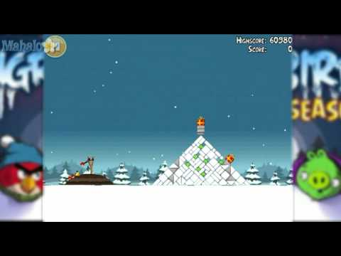 Angry Birds Seasons Level 1 5 Mighty Dragon Eagle 100