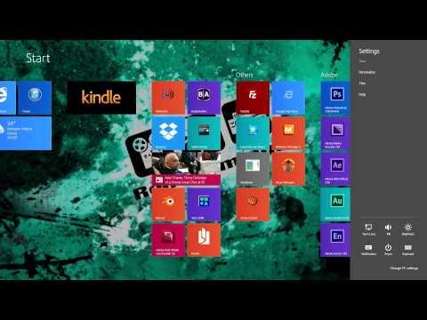 Windows 8.1 Tutorial with Keyboard Shortcuts - Laptop/Desktop