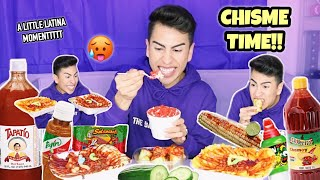BOMB AF MEXICAN ANTOJITOS MUKBANG!! | Louie's Life