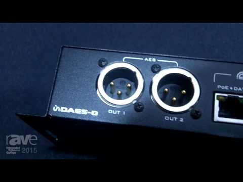 ISE 2015: Attero Tech Shows Off the UNDAES-O, a Four Channelled AES Transmitter Device