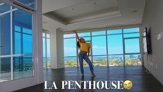 My New Empty Apartment Tour La Penthouse Jasmeannnn