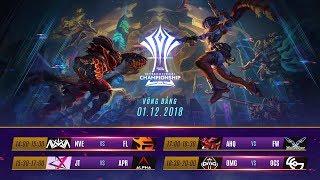 Vòng Bảng AIC 2018 Ngày 2 - Garena Liên Quân Mobile
