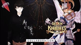 Seven Knights Korean Collab Tower of God preview Hero and costumes