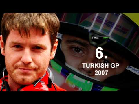 Top 10 Most Memorable Smedley - Massa moments