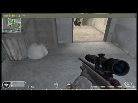 Call Of Duty 4: Pezbots Fun!