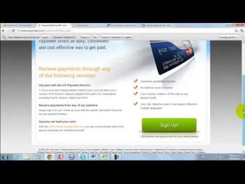 Como asociar tu cuenta Payoneer con Paypal 100% bien explicado 2014