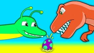 Mystery Dinosaur Egg! Find the egg
