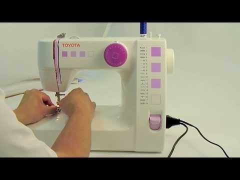 Machines à coudre TOYOTA série RS2000 : Démarrer la couture en 2min30s ... simplement ! thumbnail