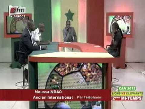 Can 2013  - Sénégal vs Côte d'Ivoire -  15 octobre 2012  - 2ème Mi  - Temps   - Partie 11