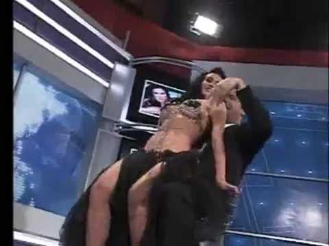 Diosa Canales le baila a Luis Chataing