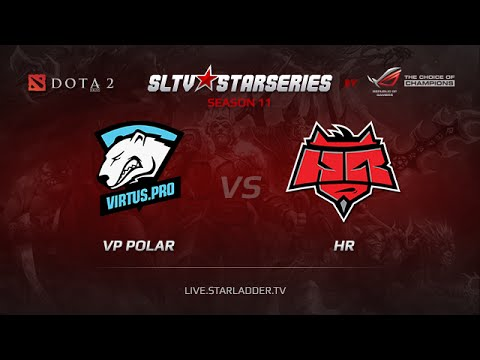 Virtus Pro Polar vs HR , SLTV Europe Season 11, Day 23