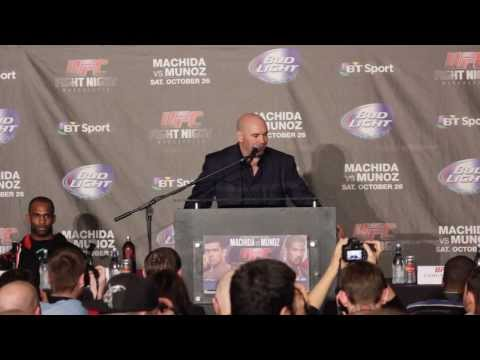 UFC Fight Night 30 (Manchester) Post Fight Press Conference Image 1
