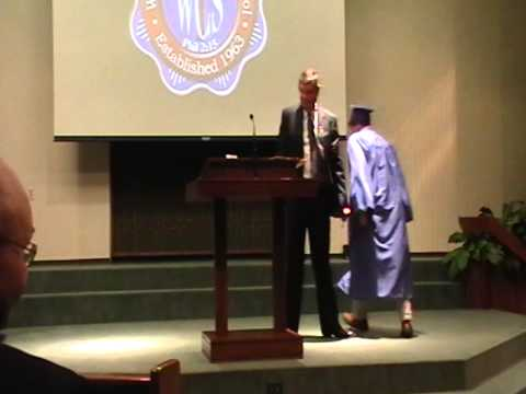 Wichita Christian School Graduation 2014 Diplomas