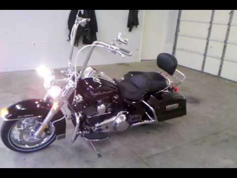 Harley Davidson Road King ape hangers rinehart xtreme true duals ...