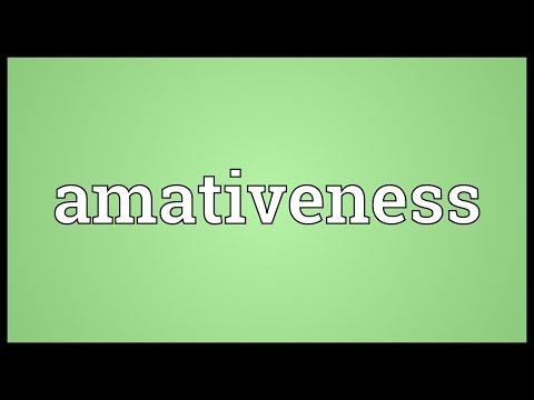Header of amativeness