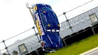 Doc Hudson Crashes Hard!!!   Forza Motorsport 7   NASCAR