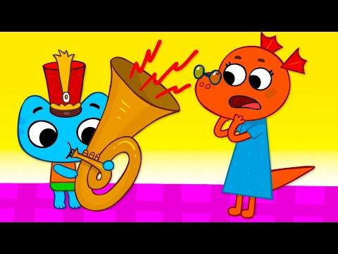 Котики, вперед! - Тихий час - серия 51 - развивающие мультики для детей