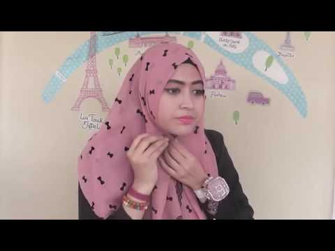 Tutorial Hijab Segi Empat Ala Natasha Farani Spesial Ramadhan