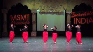 Bengali Dance - Mamo Chitte Niti Nritye