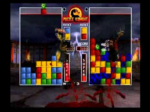 Mortal Kombat Deception - Puzzle Kombat - Scorpion