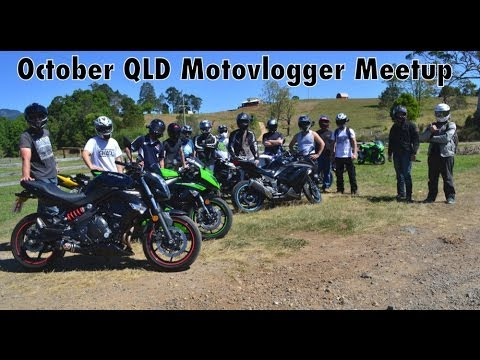 Motovlogger Meetup - A Horse, A Crash, Avoiding Cops, Getting Lost And Running Out Of Fuel