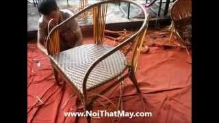 Sản Xuất Ghế Cafe Sân Vườn Giả Mây - Minh Thy Furniture
