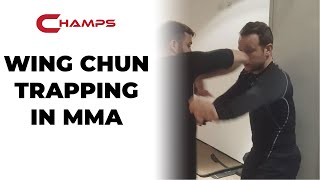 Tony Furgeson uses Wing Chun trapping vs Anthony pettis In MMA, technique breakdown