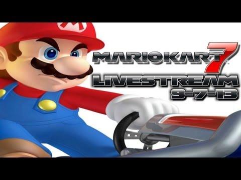 LIVESTREAM   Mario Kart 7 w/ Subscribers! (9/7/13)