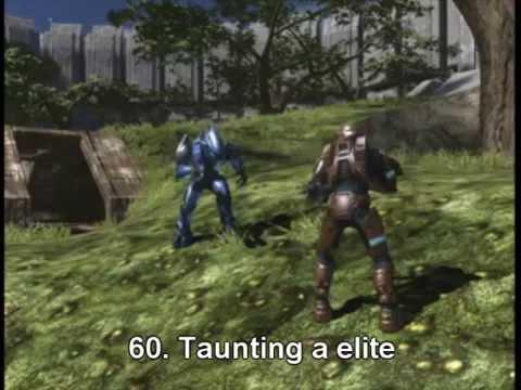100 ways to die in Halo 3