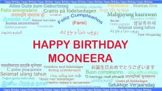 Mooneera   Languages Idiomas - Happy Birthday