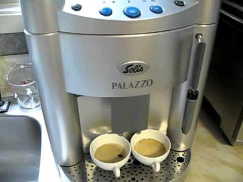 Solis Palazzo Super Automatic Machine Double Espresso Shot