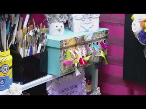 DIY - Aufbewahrung von Bändern und Schleifen im Schuhkarton